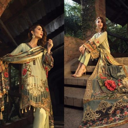Embroidered linen collection 2019